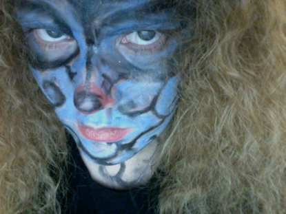 I was face-painter for the halloween carnival