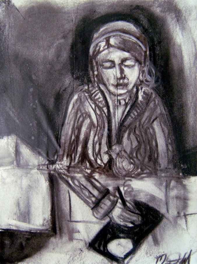 charcoal-mary1