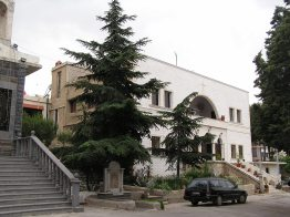 The Bishop's residence in Sweida