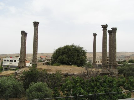 Ruin of an old Roman temple