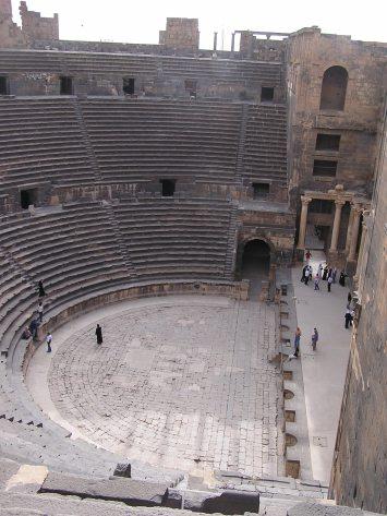 Amphitheater at Bosra