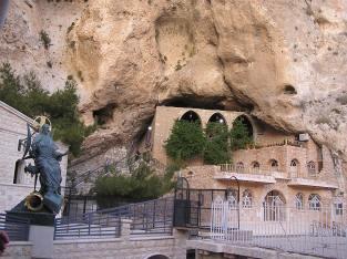 St. Thekla Monastery, shrine and sepulcher