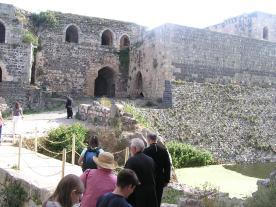 Knight Castle -- overlooking moat
