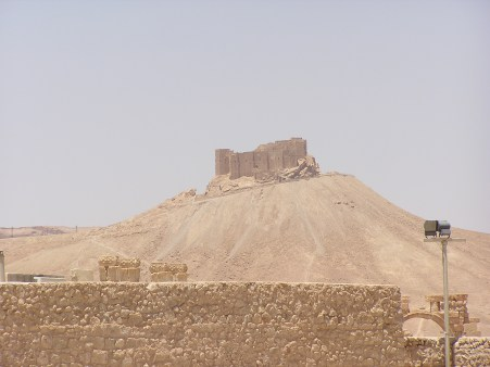 Fort built by Saladin at Palmyra