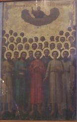 40 Martyrs Icon