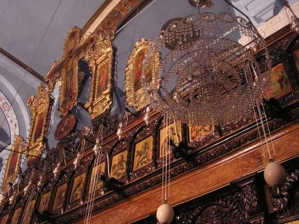 Perhaps the Dormition church in Homs