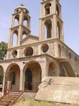 Destroyed church