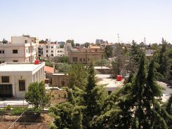 Sweida from the balcony of my room