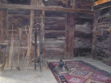 Inside of peasant house