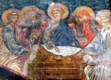 Fresco in Zarzma