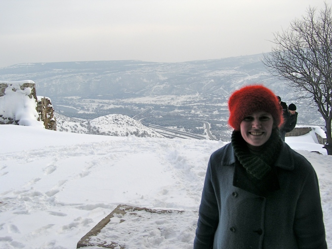 Me on top of Mtskheta Jvari's hill