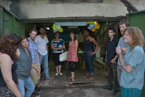 Volunteer garage supra