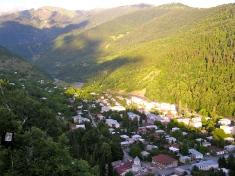 The town of Lentekhi