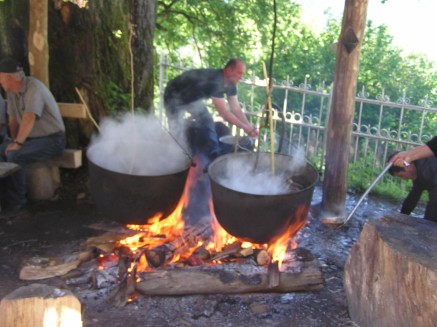 Boiling lamb