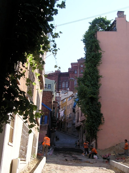 A street in Istanbul