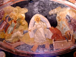 Resurrection Fresco, Kyria museum/church