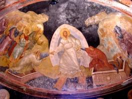 Resurrection Fresco, Kyria museum/church