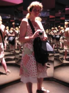 Me in the mirror room; Renaissance Masters Exhibit