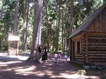 Replica of St Seraphim's cabin