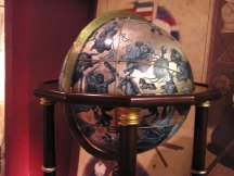 Celestial globe; Islamic Math and Science museum
