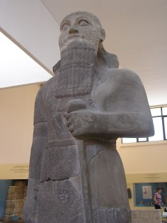 Statue from the archeology museum