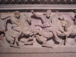 Frieze from Alexander's tomb