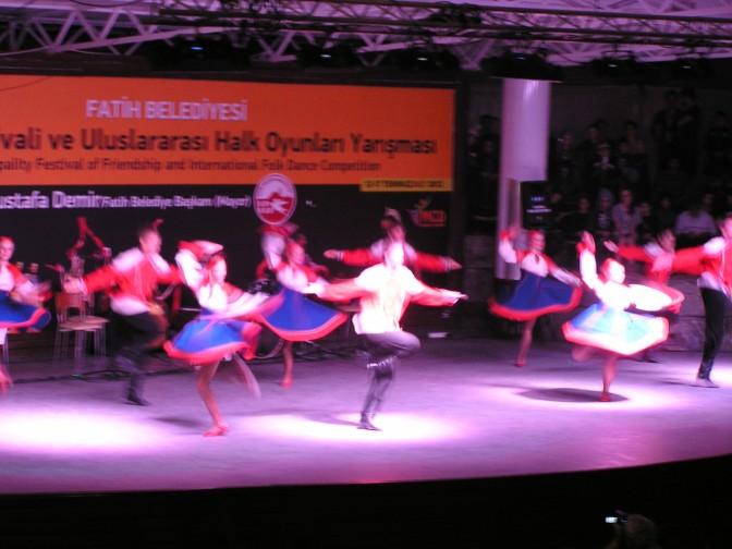 Russian folk dancers