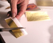 Cutting the gold into wedges
