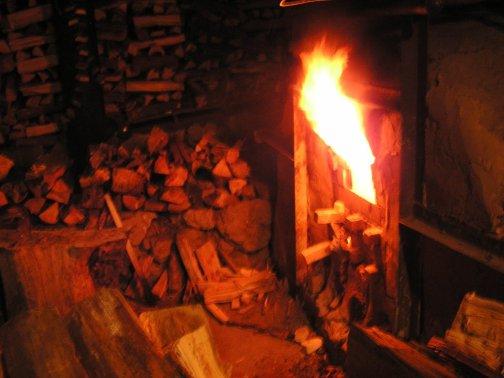 Door Fire NAU Wood Fire