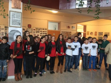 Celebrating Albanian Flag Day