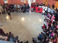 Albanian Flag Day assembly