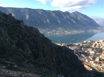 View from the Kotor fortress