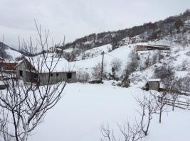 Snow in the village