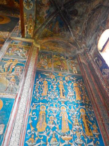 Fresco at Decani