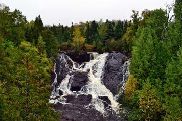 Eagle River Falls Waterfall